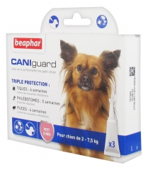 Beaphar Caniguard Line-On Small Dog 3 Pipettes of 2ml
