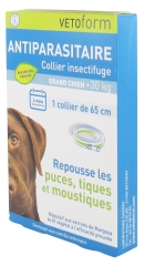 Vetoform Antiparasite Insect Repellent Collar Big Dog + 30kg