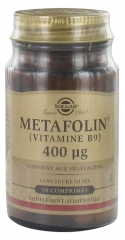 Solgar Metafolin Vitamin B9 400 mcg 50 Tabletten