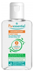 Puressentiel Sanitisationsmittel Antibakterielles Gel mit 3 ätherischen Ölen 100 ml