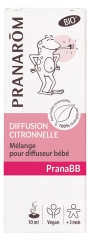 Pranarôm PranaBB Lemongrass Diffusion Mix for Organic Baby Diffuser 10ml