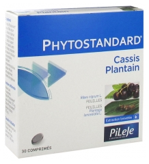 Pileje Phytostandard Blackcurrant Plantain 30 Tablets