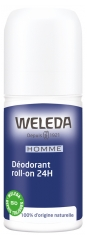Weleda Déodorant Homme Roll-on 24H 50 ml