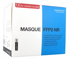 Orgakiddy Masque FFP2 NR 20 Masques
