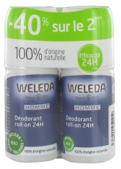 Weleda Men Deodorant Roll-on 24H 2 x 50ml