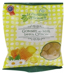 Estipharm Le Pastillage Officinal Gommes au Miel Saveur Citron 100 g