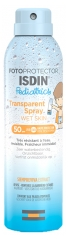 Isdin Fotoprotector Pediatries Spray Transparente Wet Skin SPF50 250 ml