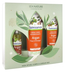 Natessance My Organic Argan Body Ritual Box Set 2020