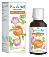 Puressentiel Organic Rose Hip Vegetable Oil (Rosa rubiginosa/canina) 30ml