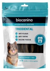 Biocanina Triodental Small Dogs 15 Vegetable Slices