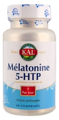 Kal Melatonin 5-HTP 60 Tablets