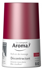 Le Comptoir Aroma Massaging Roll-On Relaxing with Organic Essential Oils 50ml