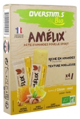 Overstims Amélix Almond Paste Organic 4 Bars
