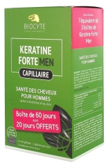 Biocyte Strong Keratine Men Hair 80 Capsules + 40 Capsules Offered