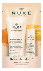 Nuxe Rêve de Miel Hand and Nail Cream 30ml + Lip Moisturizing Stick 4g