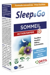 Ortis Sleep & Go Sleep Fast Action 30 Tabletten