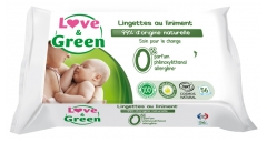 Love & Green Liniment Wipes 56 Wipes