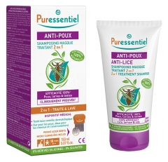 Puressential Anti-Lice 2 in 1 Treatment Mask Shampoo 150ml