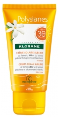 Klorane Polysianes Sublime Sunscreen with Organic Tamanu and Monoi SPF30 50ml