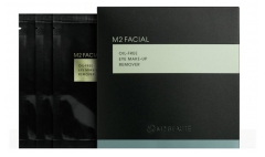 M2 BEAUTÉ M2 FACIAL Oil-Free Eye Make-up Remover 7 Wipes