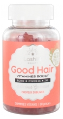 Lashilé Beauty Good Hair Vitamines Boost Cheveux Sublimes 60 Gommes