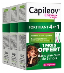 Nutreov Capileov Hair & Nails Fortifying 4-in-1 3 x 30 Capsules