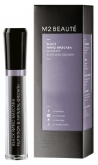 M2 BEAUTÉ Black Nano Mascara Nutrition & Natural Growth 6ml