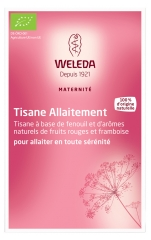Weleda Maternité Breastfeeding Herbal Tea Red Berries and Raspberry Aromas 20 Sachets