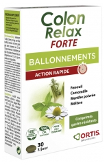 Ortis Colon Relax Forte Bloating 30 Tablets