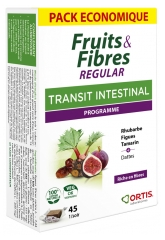 Ortis Fruits & Fibres Regular 45 Squares to Chew