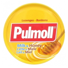Pulmoll Lozenges Milk and Honey 75g