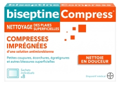Bayer Biseptine 8 Impregnated Compresses