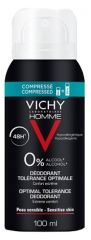 Vichy Homme Optimal Tolerance Deodorant 48H Spray 100ml