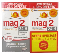Mag 2 24h Enhanced Formula 2 x 60 Tablets