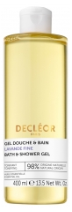 Decléor Shower and Bath Gel Fine Lavender 400ml