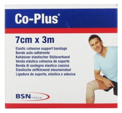 BSN Medical Co-Plus Selbstklebeband 7 cm x 3 m