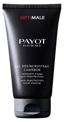 Payot Homme Optimale Gel Désincrustant Charbon Anti-Imperfections Facial Cleanser 150ml