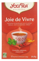 Yogi Tea Joy of Living Organic 17 Sachets