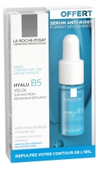 La Roche-Posay Hyalu B5 Eye Replenishing Anti-Wrinkle Eye Care 15ml + Anti-Wrinkle Concentrate Repairing Replumping Serum 10ml (Free)