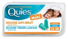 Quies Mini Mousse Anti-Bruit 3 Paires