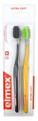 Elmex Ultra Soft 2 Brosses à Dents Ultra Souple