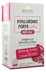 Biocyte Hyaluronic Forte Full Spectrum Anti-Âge 3 x 30 Gélules