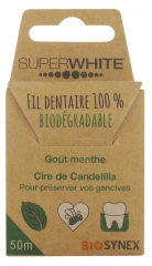 Superwhite Biodegradable Dental Floss 50m