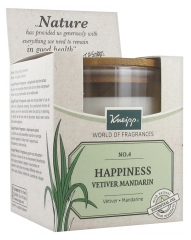 Kneipp Scented Candle Happiness Vetiver Mandarin