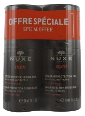 Nuxe Men 24HR Protection Deodorant 2 x 50ml