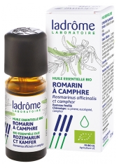 Ladrôme Organic Essential Oil Rosemary Camphor (Rosmarinus officinalis CT camphre) 10ml