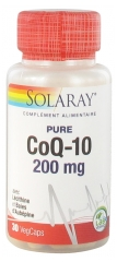 Solaray CoQ-10 200mg 30 Vegetable Capsules