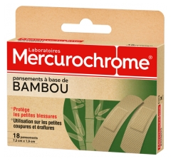 Mercurochrome 18 Bamboo-Based Dressings