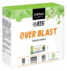 STC Nutrition Over Blast Instant Energy 10 Gels