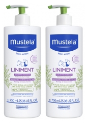 Mustela Liniment Flacon-Pompe Lot de 2 x 750 ml